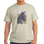 Black Horse Ash Grey T-Shirt