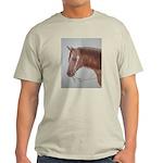 Brown Horse Ash Grey T-Shirt