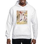 Jack Russell Terrier Hooded Sweatshirt