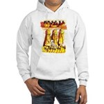 Dalmatian Fire House Hooded Sweatshirt