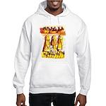 Dalmatian Fire House Hooded Sweatshirt