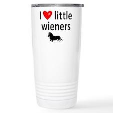 Love Little Wieners Travel Mug