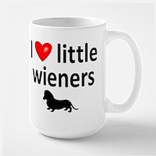 Love Little Wieners Large Mug