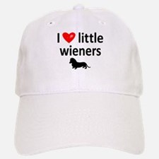 Love Little Wieners Baseball Baseball Cap