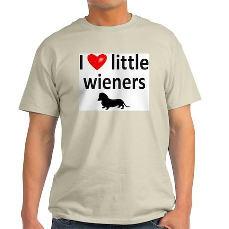 Love Little Wieners Light T-Shirt