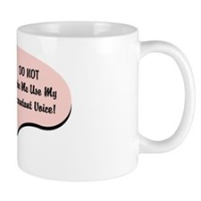 Accountant Voice Small Mugs