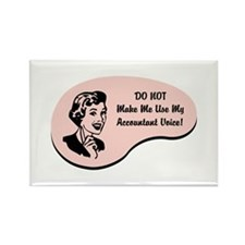 Accountant Voice Rectangle Magnet (10 pack)