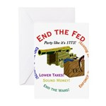 End the Fed Greeting Cards (Pk of 20)