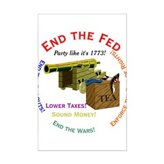 End the Fed Posters