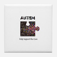 """Atuism Help Support the Cure Tile Coaster"
