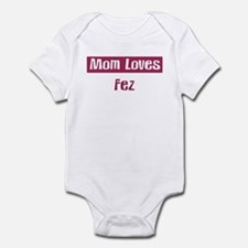 Mom Loves Fez Infant Bodysuit