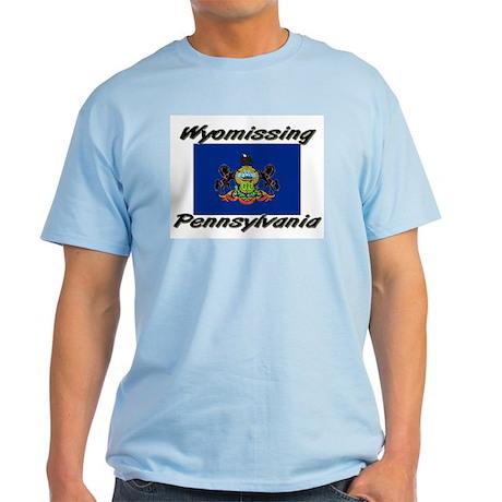 Wyomissing Pennsylvania Light T-Shirt