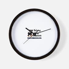 Unique Doberman rescue Wall Clock