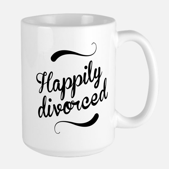 Happily divorced Mugs