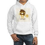 Luminous Leo Hooded Sweatshirt