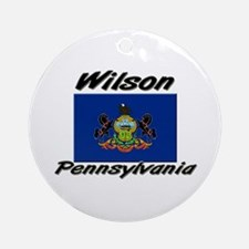 Wilson Pennsylvania Ornament (Round)