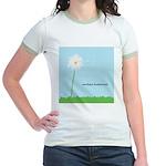 Weeding Is Fundamental Jr. Ringer T-Shirt