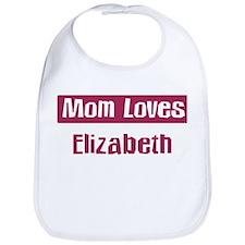 Mom Loves Elizabeth Bib
