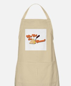 Who Cut the Cheese? BBQ Apron