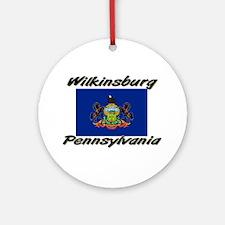 Wilkinsburg Pennsylvania Ornament (Round)