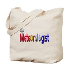 Meteorologist Tote Bag