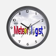 Meteorologist Wall Clock