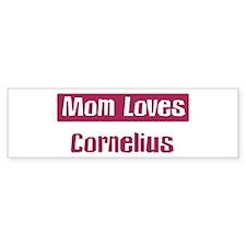 Mom Loves Cornelius Bumper Bumper Sticker