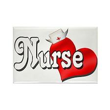 Nurse Rectangle Magnet