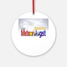 Junior Meteorologist Ornament (Round)