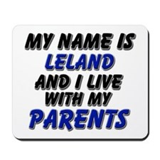 my name is leland and I live with my parents Mouse