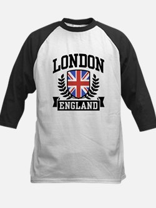 London England Kids Baseball Jersey
