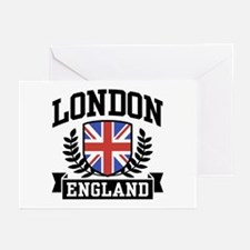 London England Greeting Cards (Pk of 10)