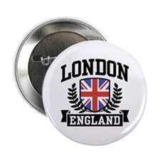 "London England 2.25"" Button"