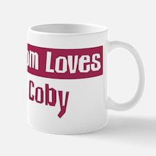 Mom Loves Coby Mug