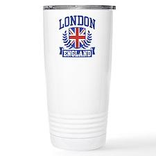 London England Thermos Mug