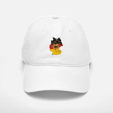 Germany Map Baseball Baseball Cap