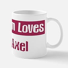 Mom Loves Axel Mug