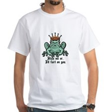 Kiss Me or I'll Fart Frog Shirt