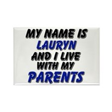 my name is lauryn and I live with my parents Recta