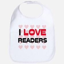 I LOVE READERS Bib