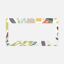 Woodland Birds License Plate Holder