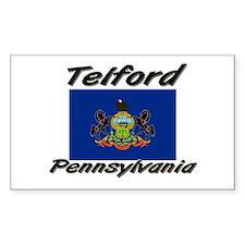 Telford Pennsylvania Rectangle Decal