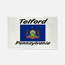 Telford Pennsylvania Rectangle Magnet