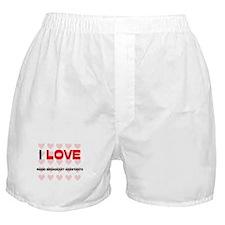 I LOVE RADIO BROADCAST ASSISTANTS Boxer Shorts