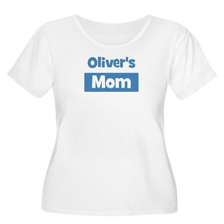 Olivers Mom Women's Plus Size Scoop Neck T-Shirt