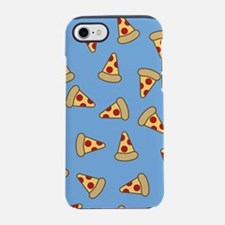 Cute Pizza Pattern iPhone 7 Tough Case