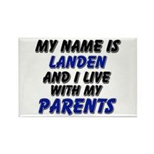 my name is landen and I live with my parents Recta