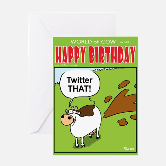 Twitter That! Greeting Card