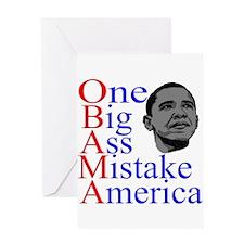 Obama is One Big Ass Mistake America. Anti Obama P