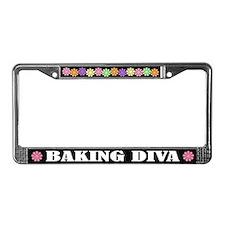 Baking Diva License Plate Frame